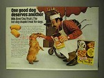 1975 Milk-Bone Dog Treats Ad - Deserves Another