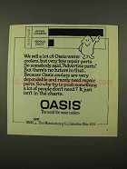 1975 Oasis Water Cooler Ad - Sell Few Repair Parts