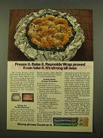 1975 Reynolds Wrap Ad - Double Batch Shrimp Florentine