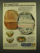 1975 Reynolds Wrap Ad - Molds and Seals