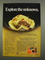1975 Stouffer's Stuffed Shells Ad - Explore Unknown