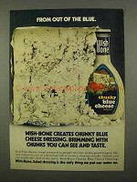 1975 Wish-Bone Chunky Blue Cheese Dressing Ad