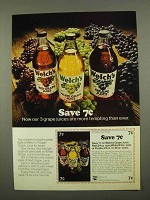 1975 Welch's Grape Juice Ad - More Tempting