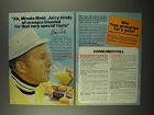 1975 Minute Maid Orange Juice Ad - Bing Crosby