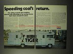 1975 Exxon Oil Ad - Speeding Coal's Return