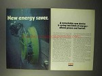 1975 Exxon Oil Ad - New Energy Saver