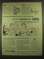 1959 Smiths Watch Ad - Another Meaning