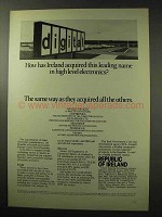 1977 Republic of Ireland Industrial Development Ad