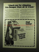1977 Trailways Bus Ad - Check Me For Shipping