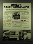 1977 Starcraft Stardust Swinger Camper Ad - Imitated
