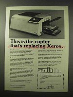 1977 Savin 770 Copier Ad - Replacing Xerox