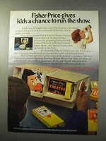 1977 Fisher-Price Movie Viewer Theater Ad - Run Show