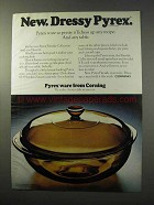 1977 Corning Pyrex Fireside Collection Ad - Dressy
