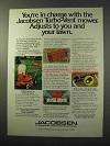 1977 Jacobsen Turbo-Vent Mower Ad - You're in Charge