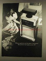 1977 Dana Tabu Perfume Ad - No Turning Back