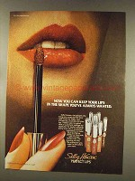 1977 Sally Hansen Perfect Lips Ad - Keep in the Shape