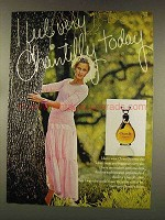 1977 Houbigant Chantilly Perfume Ad - I Feel
