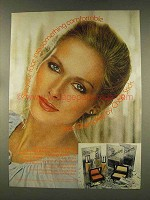1977 Chap Stick Face Quencher Makeup Ad - Comfortable