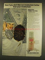 1977 Helena Rubinstein Skin Dew Visible Action Ad
