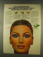 1977 Prince Matchabelli Aziza Shadow with Sealer Ad