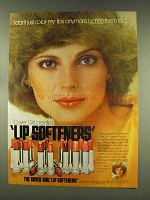 1977 Cover Girl Lip Softeners Lipsticks Ad