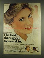 1977 Cover Girl Clean Make-up Ad - Cindy Harrell
