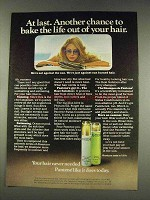 1977 Pantene Shampoo Ad - Bake The Life Out of Hair
