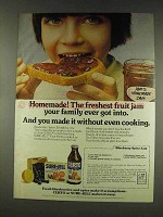 1977 Certo and Sure-Jell Pectin Ad - Homemade!