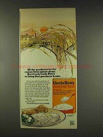 1977 Uncle Ben's Converted Rice Ad - All the Goodness