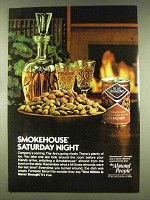 1977 Blue Diamond Smokehouse Almonds Ad - Saturday