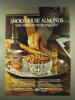 1977 Blue Diamond Smokehouse Almonds Ad - One Nibble