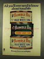1977 Bumble Bee Tuna Ad - All You'll Need to Know