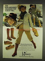 1977 Kinney Boots and Shoes Ad - The Run Arounds