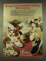 1977 Kinney Shoes Ad - Bring On Sunshine Feeling