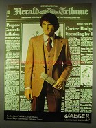 1977 Jaeger Fashion Ad - Where Else in the World?