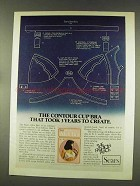 1977 Sears Ah-h Bra Ad - The Contour Cup