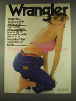1977 Wrangler Jeans Ad - Get What They Pay For