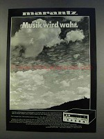 1977 Marantz Audio Equipment Ad - in German