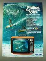 1977 Philips Philetta Royal 625 Television Ad - German