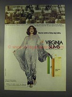1977 Virginia Slims Cigarettes Ad, Come a Long Way Baby