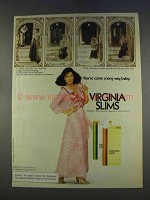 1977 Virginia Slims Cigarettes Ad - You've Come a Long Way