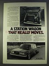1977 Volvo 265 Station Wagon Ad - Really Moves