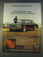 1978 Chrysler LeBaron Ad - Car That Started It All