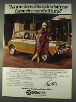 1977 Leyland Mini Car Ad - with Twiggy