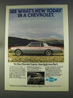 1978 Chevrolet Caprice Classic Coupe Ad - What's New