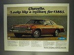 1977 Chevrolet Chevelle Ad - Looks Like a Million