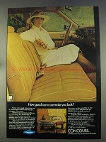 1977 Chevrolet Concours Ad - How Good Can You Look