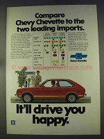 1977 Chevrolet Chevette Rally 1.6 Ad - Leading Imports