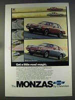 1977 Chevrolet Monza Coupe and 2+2 Hatchback Ad