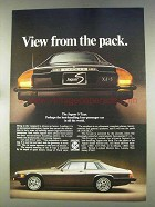 1977 Jaguar XJ-S Car Ad - View From The Pack